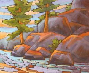 Lake-Clear-Rocks-20-x-24-$850-unframed