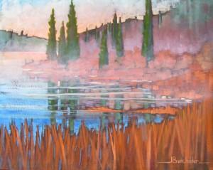 Near-Aylen-Lake-16-x-20-$650-framed
