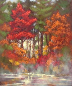 Maples and Mist