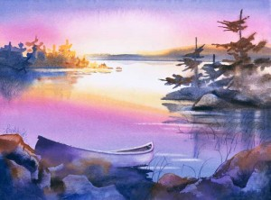 Purple-Canoe