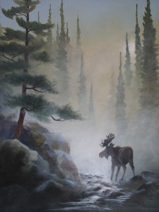 Moose-in-the-Mist-24-x-30
