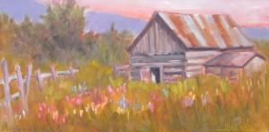 Valley-Barn-12-x-24-$650-framed